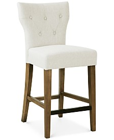 Cohan Tufted Counter Stool Quick Ship