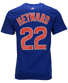 Majestic Men's Jason Heyward Chicago Cubs Player T-Shirt