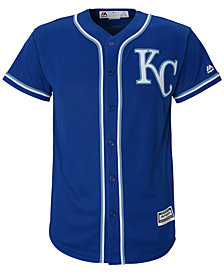 Majestic MLB Kansas City Cool Base Jersey, Little Boys (4-7)