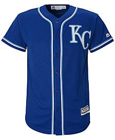 Majestic MLB Kansas City Cool Base Jersey, Little Boys (4-7)