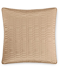 Hotel Collection Onyx  Quilted European Sham, Created for Macy's