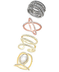 I.N.C. Statement Ring Collection, Created for Macy's