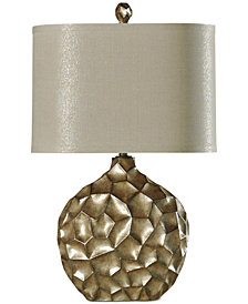 StyleCraft Georgian Silver Table Lamp