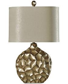 StyleCraft Georgian Silver Table Lamp