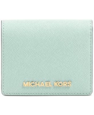 Michael Kors Jet Set Flap Card Holder