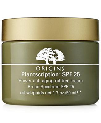 Origins Plantscription Spf 25 Anti Aging Oil Free Face