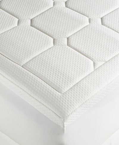 Dream Science Washable Memory Foam Mattress Pads By Martha Collection Created For Macy S