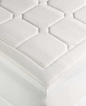 Dream Science Washable Memory Foam King Mattress Pad by Martha Stewart Collection Created for Macys Bedding