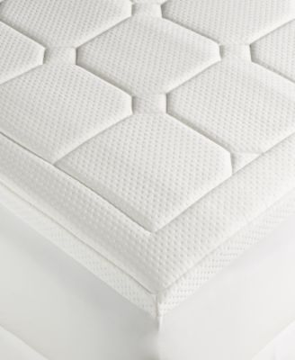 dream science washable memory foam mattress pads by martha stewart collection created for macyu0027s