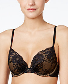 6344ce57b3 Maidenform Comfort Devotion Embellished Plunge Push-Up Bra 9443