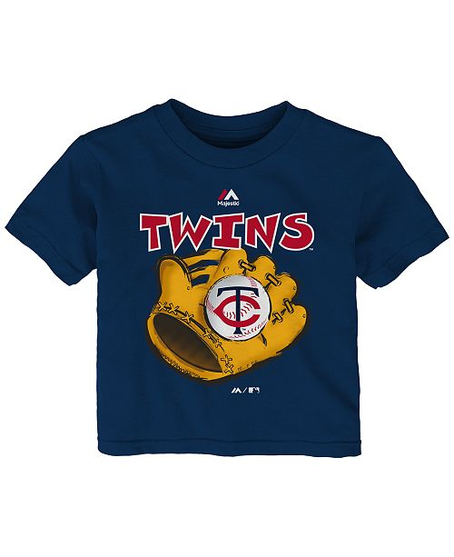 Majestic Babies' Minnesota Twins Baseball Mitt T-Shirt