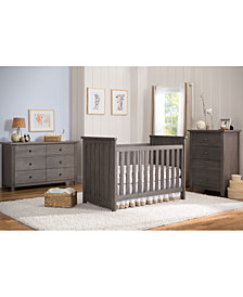Hinkson 3 in 1 Convertible Crib Collection, Quick Ship