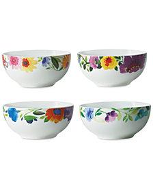 Kim Parker 4-Pc. Fruit Bowls