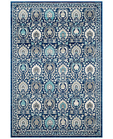 Safavieh Evoke EVK251C Blue/Ivory Area Rugs