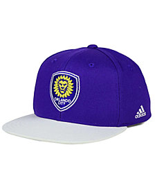 adidas Kids' Orlando City SC Goalie Snapback Cap