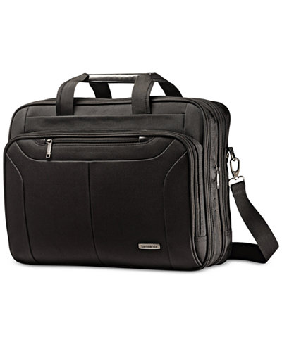 Samsonite Ballistic Expandable Toploader Laptop Briefcase