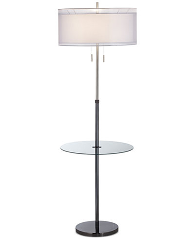 Pacific coast seeri floor lamp with accent table