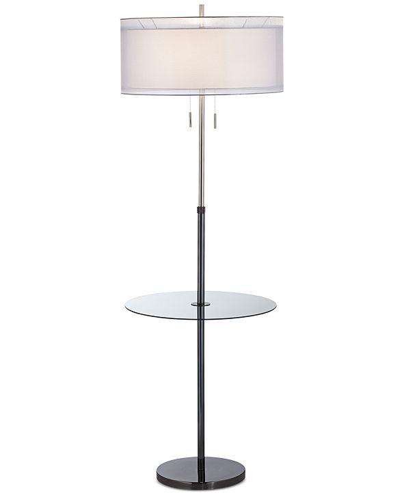 Kathy Ireland Pacific Coast Seeri Floor Lamp with Accent Table