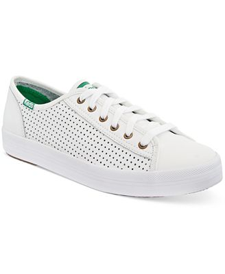 keds leather gym shoes