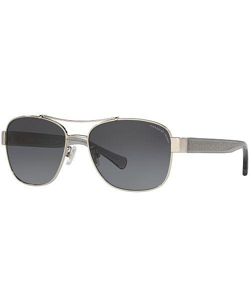 249a3277453 ... COACH Polarized Sunglasses