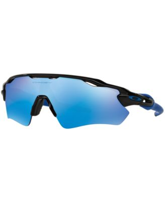blue and white oakley sunglasses jadi  Oakley Sunglasses, OO9208 RADAR EV PATH