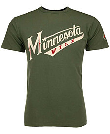 '47 Brand Men's Minnesota Wild Fieldhouse Basic T-Shirt