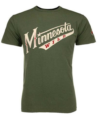 '47 Brand Men's Minnesota Wild Fieldhouse Basic T-Shirt
