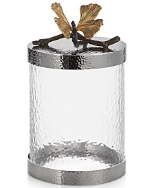 Michael Aram Butterfly Ginkgo Small Kitchen Canister
