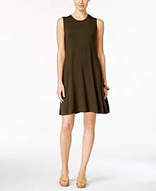 Petite Sleeveless Swing Dress, Created for Macy