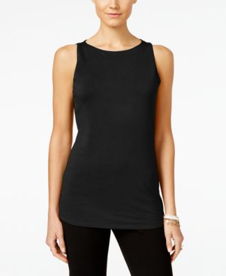 Image of INC International Concepts Boat-Neck Tank Top, Only at Macy's