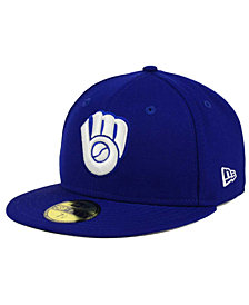 New Era Milwaukee Brewers C-Dub Patch 59FIFTY Fitted Cap