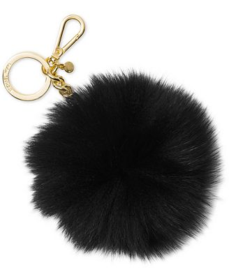 MICHAEL Michael Kors Extra Large Fur Pom Key Charm