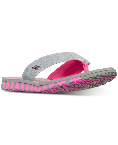 a73685143ad1 ... Skechers Women s GO FLEX - Vitality Flip Flop Sandals from Finish ...