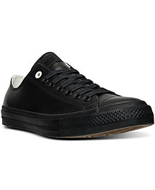 Converse Men's Chuck Taylor All Star II Ox Mesh Backed Leather Casual Sneakers from Finish Line