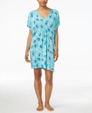 Hue Pineapple Luau Short Caftan plus size,  plus size fashion plus size appare