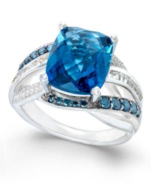 Blue Topaz (6-1/3 ct....