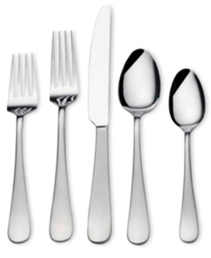 Gourmet Basics by Mikasa 18/0 Stainless Steel 20-Pc. Satin S