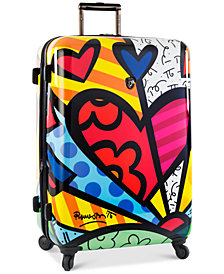 "Heys Britto New Day 30"" Expandable Hardside Spinner Suitcase"