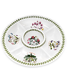 Portmeirion Botanic Garden Chip & Dip Server