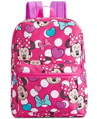 Minnie Mouse Little Girls' or Toddler Girls' Backpack ...