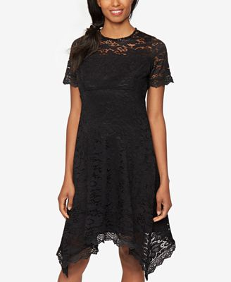A Pea In The Pod Maternity Lace Dress