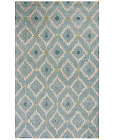 Kas Bob Mackie Home 1018 Ice Blue Mirage 9' x 13' Area Rug