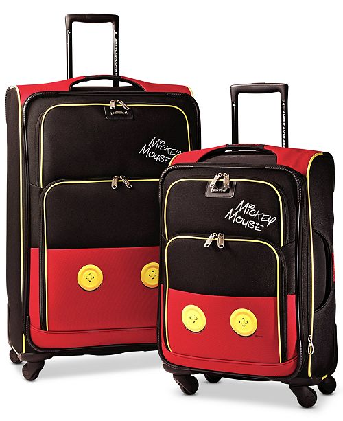 American Tourister Disney Mickey Mouse Pants Spinner Luggage by American Tourister
