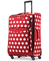 Disney Minnie Mouse Polka Dot 28 Spinner Suitcase By American Tourister