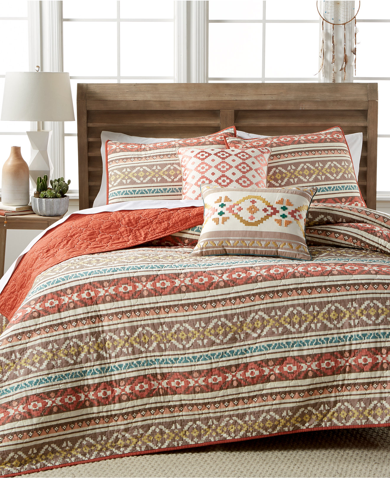 Martha Stewart Collection Silver City Stripe Quilts  Created for   Martha Stewart Collection Silver City Stripe Quilts  Created for Macy s    Quilts   Bedspreads   Bed   Bath   Macy s. Bedroom Quilts. Home Design Ideas