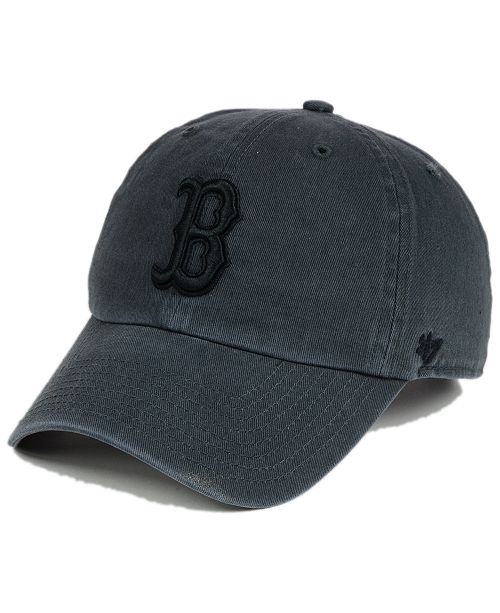 05a2185bf3c5d  47 Brand Boston Red Sox Charcoal Clean Up Cap   Reviews ...