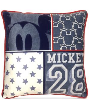 Disneys Mickey Americana Decorative Pillow Bedding