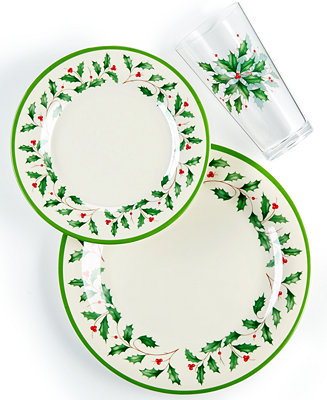 Lenox Holiday Melamine Dinnerware Collection Fine China