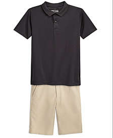 Nautica School Uniform Performance Shorts and Performance Polo Separates, Big Boys