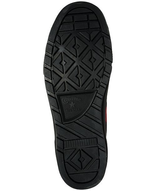 6ca7ef07fecbcf Converse Men s Chuck Taylor All Star Street Hiker Hi Woolrich Sneakerboots  from Finish ...